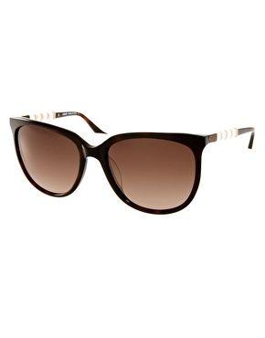 Missoni Semi-Cat-Eye Sunglasses
