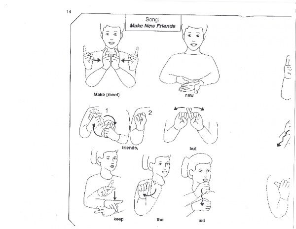 Sign Language Song Make New Friends Sign Language Songs Sign Language New Friends