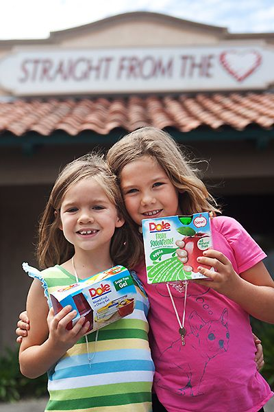 Donating Healthy Snacks For Kids with Dole Fruit Cups and Squish'ems #shop #cbias #Dole4Kids