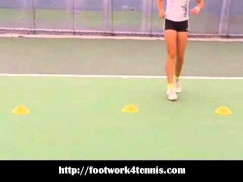 Tennis Footwork Drill - First Step Footwork For Tennis