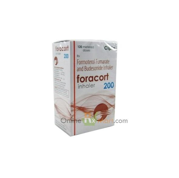 Buy Foracort 200 Inhaler Online from OnlineRxMArt at the cheapest price.