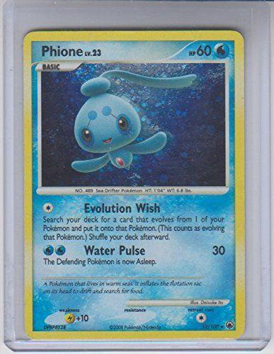 Phione LV. 23 Holo Rare Pokemon #12