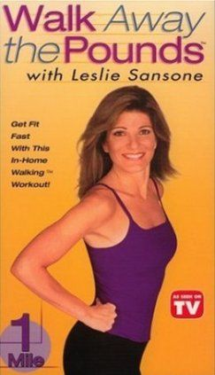 Отличная тренировка для сжигания лишних калорий от Лесли Сансон - 1 миля. Шагаем вместе!