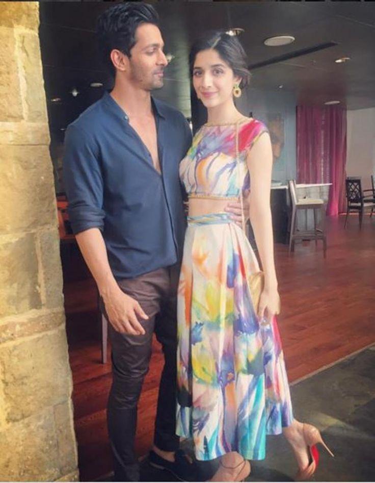 Mawra Hocane and Harshvardhan Rane promoting 'Sanam Teri Kasam'. #Bollywood #Fashion #Style #Beauty #Hot #Cute
