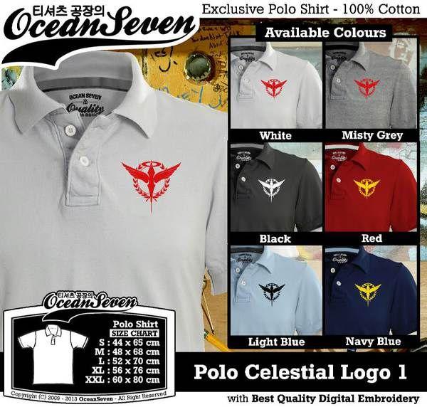 Polo Shirt - Polo Celestial Logo 1