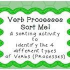 This is a 10 page document to consolidate an understanding of verbs or processes in functional grammar. It includes A page each of doing, sayin...