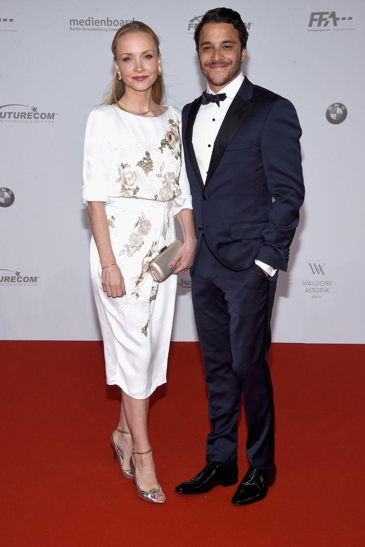 Janin Reinhardt und Kostja Ullmann beim Deutschen Filmpreis in Berlin