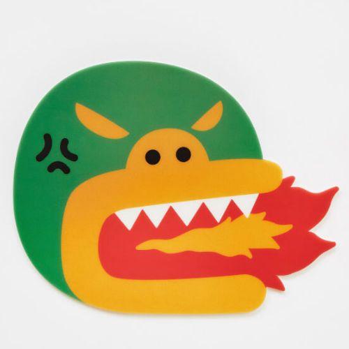 Daum Kakao Friends Crocodile Tube Mouse Pad made Korea 23cmx23cm 100% Authentic #DAUMKakaoFriends