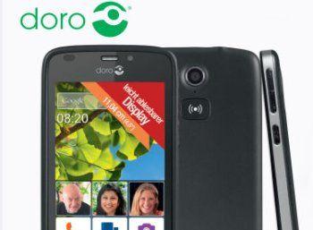"""Aldi-Nord: Seniorenhandy Doro Liberto 820 mit 10 Euro Guthaben für 139 Euro http://www.discountfan.de/artikel/tablets_und_handys/aldi-nord-seniorenhandy-doro-liberto-820-mit-10-euro-guthaben-fuer-139-euro.php Mit dem """"Doro Liberto 820″ ist bei Aldi-Nord ab dem 26. November 2015 ein sehr gut bewertetes Senioren-Smartphone zum Schnäppchenpreis von 139 Euro zu haben. Im Preis inbegriffen ist ein Guthaben von zehn Euro bei Aldi-Talk. Seniorenhandy Doro Liberto 820"""