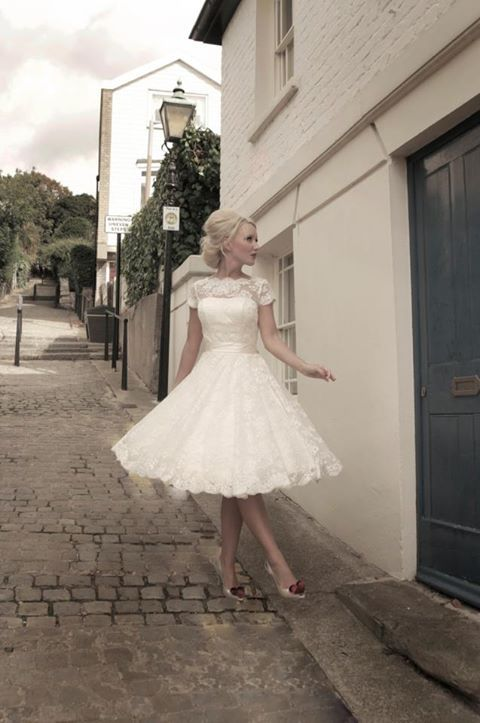 This is the Dress I want for my wedding with Red high-top Converse!