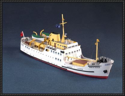 Queen of the Isles Passenger Ferry Free Paper Model Download