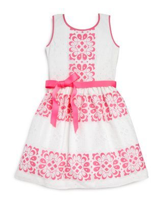 Blush by US Angels Girls' Lace Cutout Dress - Sizes 7-16 | Bloomingdale's