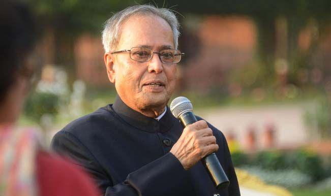 President Pranab Mukherjee To Teach Developmental Politics Of India On Teacher's Day