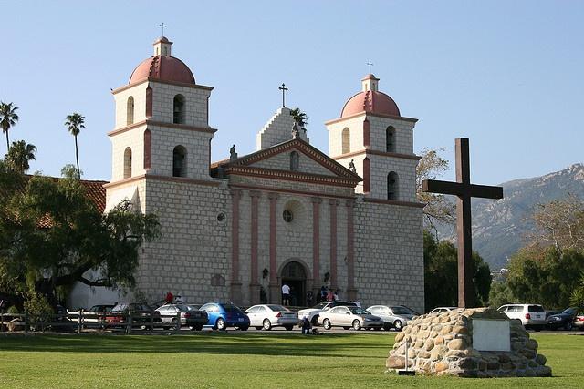 Santa Barbara Mission, CA
