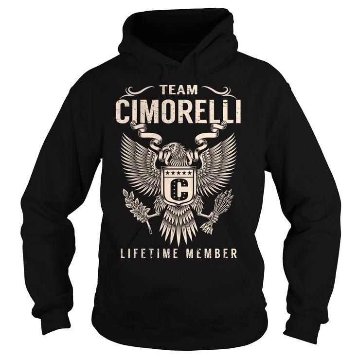 (Tshirt Suggest Discount) Team CIMORELLI Lifetime Member Last Name Surname T-Shirt Teeshirt this week Hoodies, Funny Tee Shirts