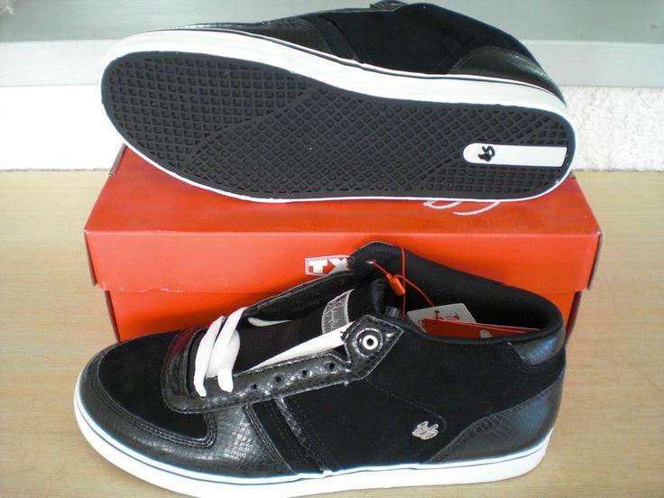 Sneaker és Cassette Mid  Gr 45 Schwarz Skateschuhe Neu es Abverkauf Angebot