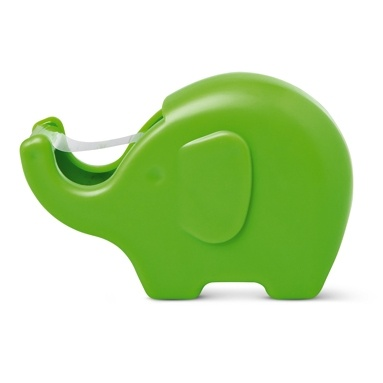 elephant sellotape holder: Elephants Sellotap, Celloph Tape, Elephants Tape, Elephant Tape, Elephant Joelle, Tape Elephants, Green Elephants, Tigerdk Elephants, Design
