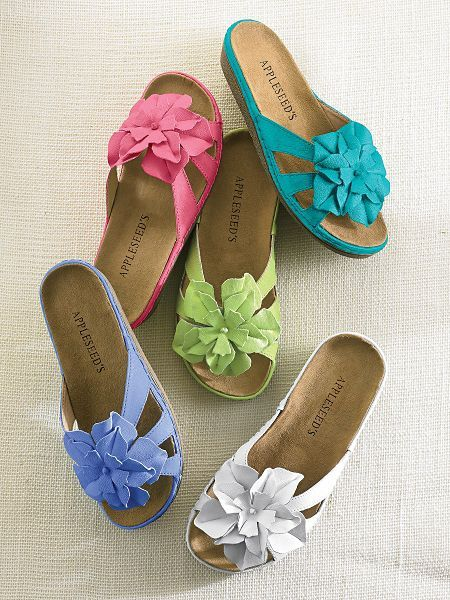 Shop Dahlia Slide and other Womens Shoes and Womens Clothing in Misses, Petite, and Plus Size at Appleseed's.