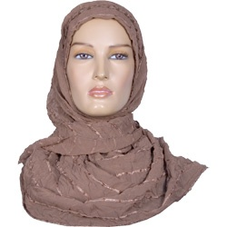 Hijab - Igal Style - Brown http://www.muslimbase.com/clothing/hijabs/igal-hijab/hijab-igal-style-brown-p-4029.html