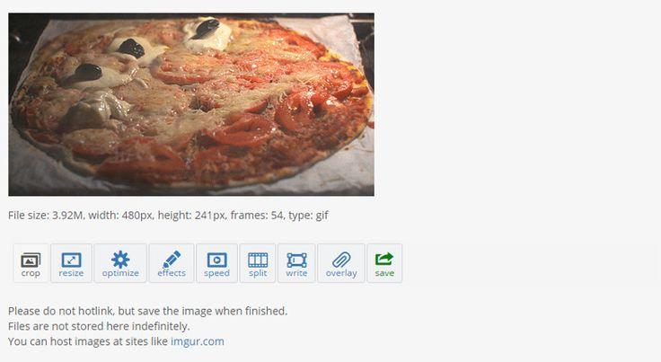 Ver EzGif te permite editar GIFs online: Crea, recorta y optimiza