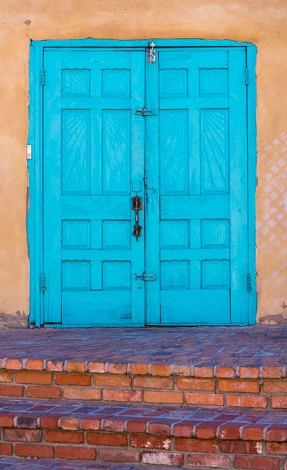 106 Best Images About Doors Of New Mexico On Pinterest