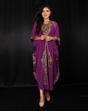 62df804960 Moroccan Dubai Red Kaftan Dress, Plus Size Maxi Caftan Dress Chiffon ...