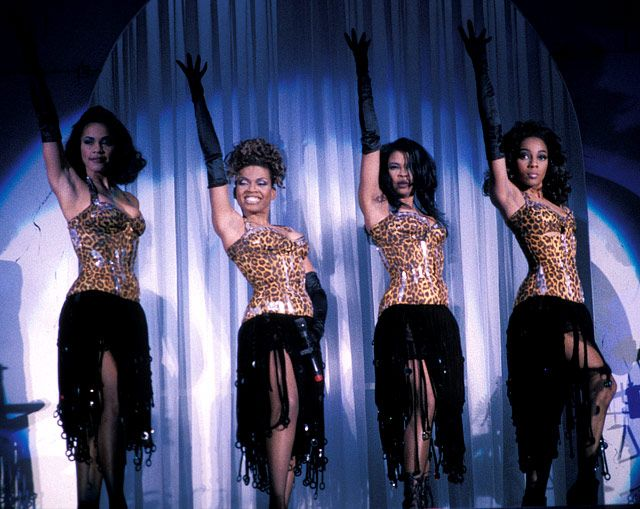"""En Vogue  The R group, known for their chart-topping hits """"Free Your Mind"""" and """"My Lovin' (You're Never Gonna Get It)"""" aimed to be a modern-day girl group in the tradition of the '50s/'60s. In addition to a number of awards and seven Grammy nominations, the group won more MTV Video Music Awards than any other female group in MTV history."""