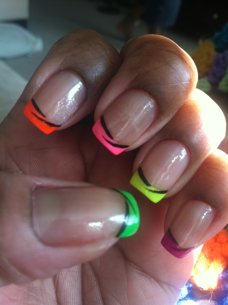 111 best Fashion images on Pinterest | Neon nails, Make up and Enamels