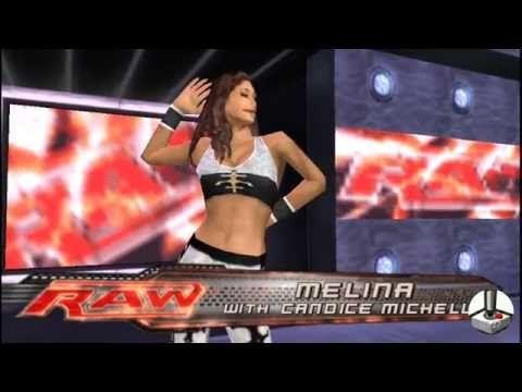 WWE Smackdown vs. Raw 2008: Kane vs. Melina & Candice Michelle
