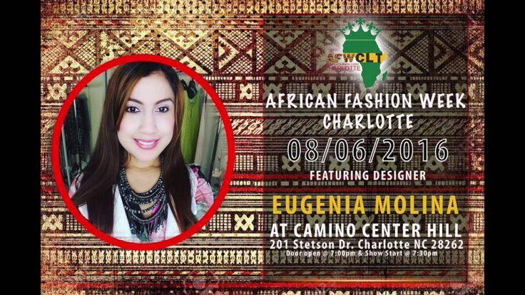 Hoy les comparto lo que fue mi presentación en el African Fashion Week en la ciudad de Charlotte Carolina del Norte. Una colección pensada para resaltar el color de la mujer negra.