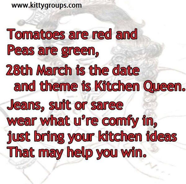 14 best kitty party invitation ideas images on pinterest master chefkitchen queen theme kitty party games and ideas stopboris Choice Image