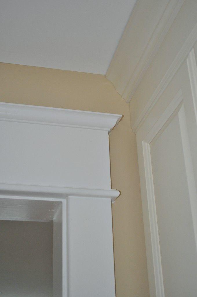 Craftsman style door trim work closets and trim pinterest for Interior trim moulding