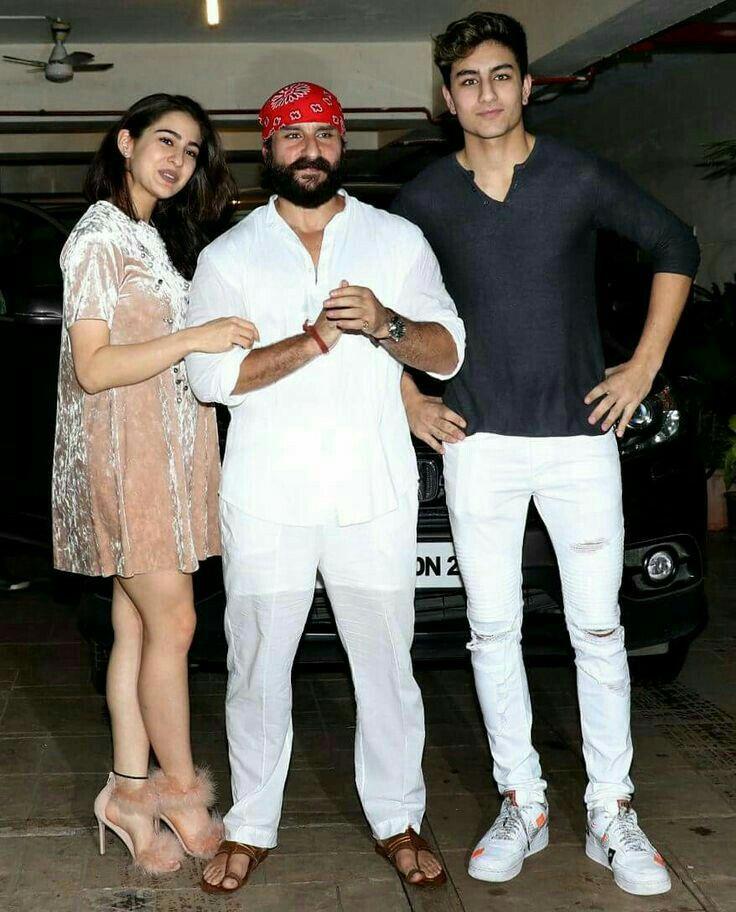 Happy B Day Saif Ali Khan Bollywood Celebrities Bollywood Couples Sara Ali Khan