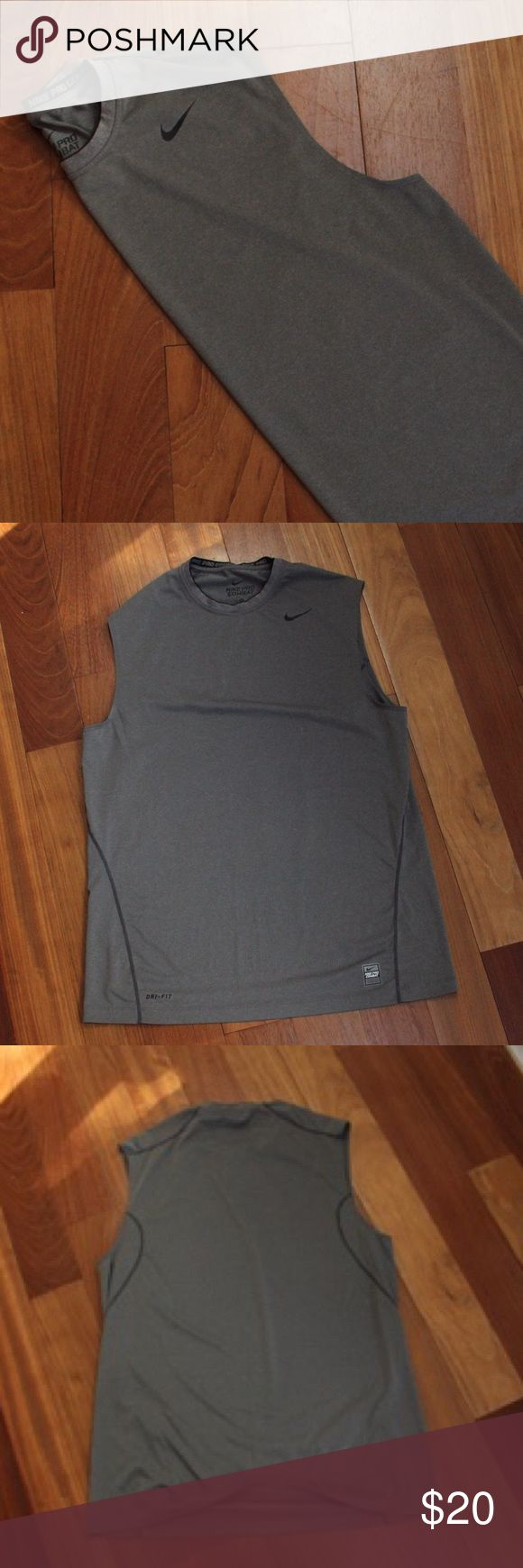 Nike Pro Combat Tank Perfect condition Nike Pro Combat Tank Top. No flaws! Nike Shirts Tank Tops