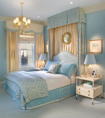 Recently, Iu0027ve Fallen In Love With The Blue And Gold Color Scheme For · Teal  BedroomsGold ...