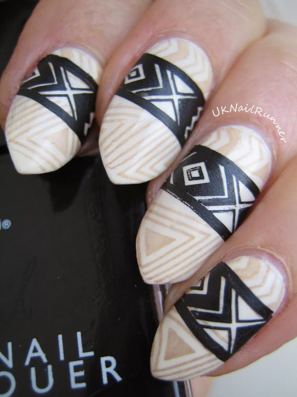 MoYou Explorer Collection Plate 14  http://uknailrunner.blogspot.co.uk/2014/02/new-nail-shape-and-some-native-american.html