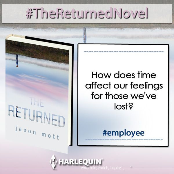 Check out Jason Mott's awesome new book, THE RETURNED!