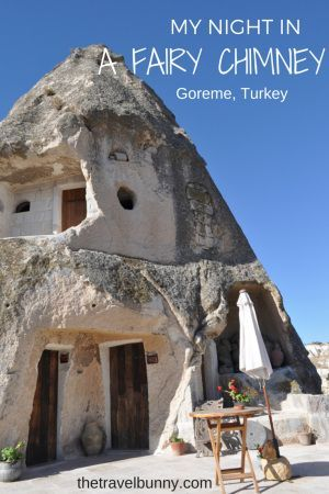 That time I spent the night in a Fairy Chimney in a cave hotel in Goreme, Cappadocia in Turkey. Who knew a fairy chimney (hoodoo) could be so luxurious...