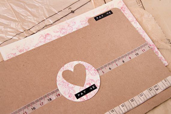 Chrystalace Wedding Stationery free folder DIY.