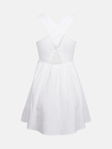 Ninni dress | 7166183 | Valkoinen | BikBok | Suomi