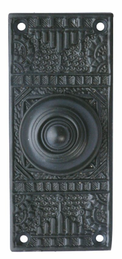 Great $69 Solid Brass Eastlake Style Door Bell (Oil Rubbed Bronze Finish)