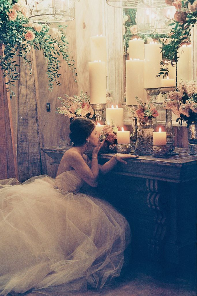 This is nearly a perfect representation of what I want for my wedding. Classic, romantic and elegant, yet simple.