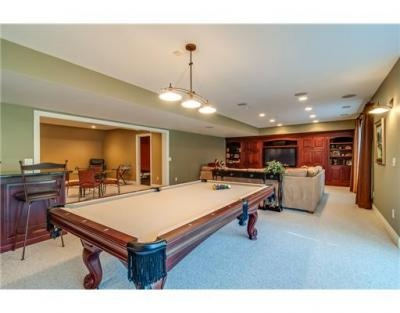 The ultimate basement man cave area