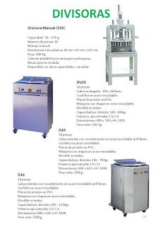 COBEPAN.ES maquinaria y accesorios para Panaderia y Pasteleria.: divisoras manules e hidraulicas.