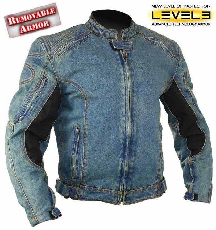 Newfacelook Mens Protective Armour Motorbike Motorcyle Waterproof Textile Jacket