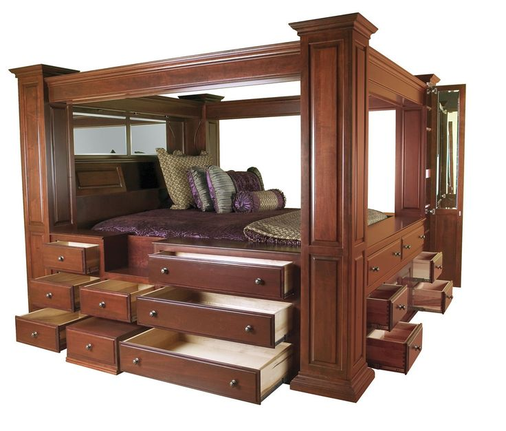Wonderful Queen Canopy Bed Frame