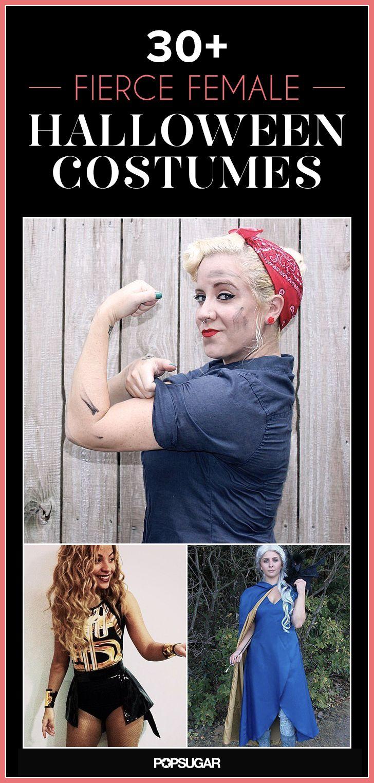30+ Fierce Halloween Costumes That Empower Women #feminism