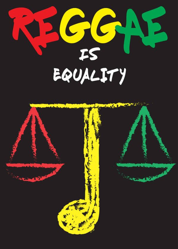 Reggae is equality | Turkey | International Reggae Poster Contest