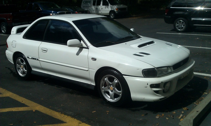 1999 Impreza RS Coupe at 488,000 miles! - Photo by Frankie