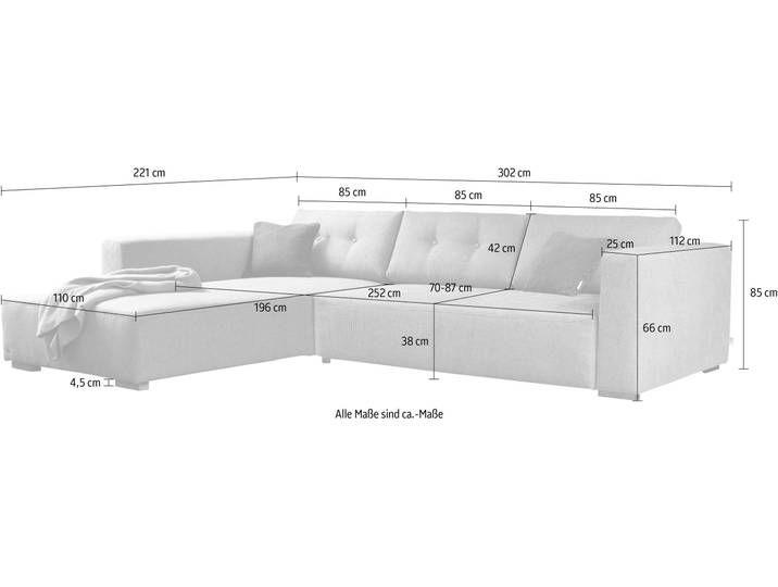 Tom Tailor Ecksofa Heaven Chic Xl Warm Home Decor Sofa Design Corner Sofa